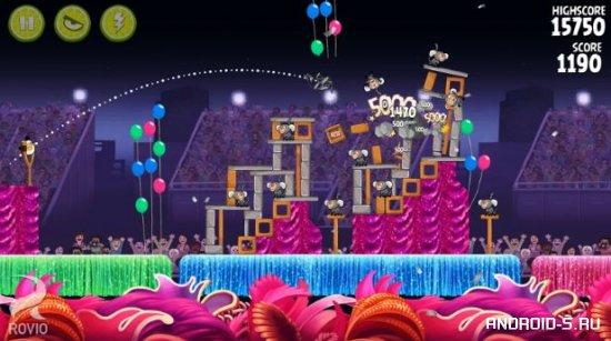 Angry Birds Rio (Злые Птички Рио)