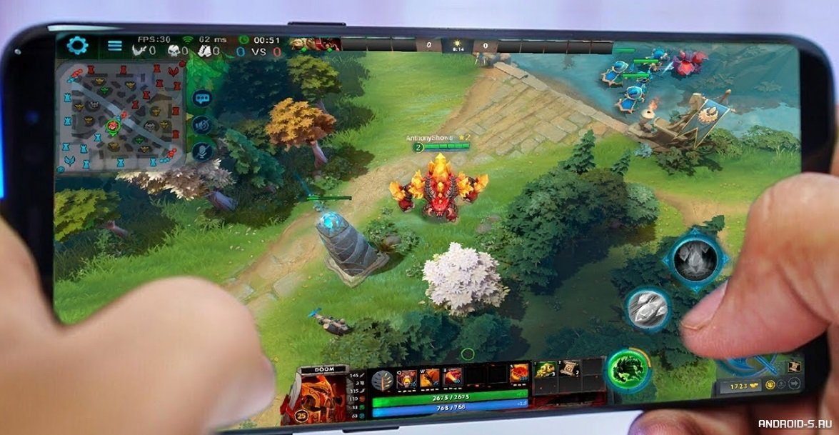 Dota Underlords Mobile Android WORKING Mod APK Download - FrontLine Gaming | 609x1175